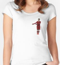 Bobby Firmino Women's Fitted Scoop T-Shirt