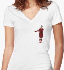 Bobby Firmino Women's Fitted V-Neck T-Shirt