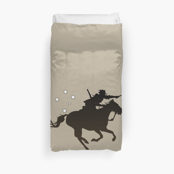 Light horse Charging  Duvet Cover