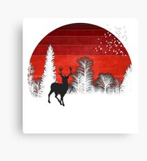 Under the Red Sun Canvas Print