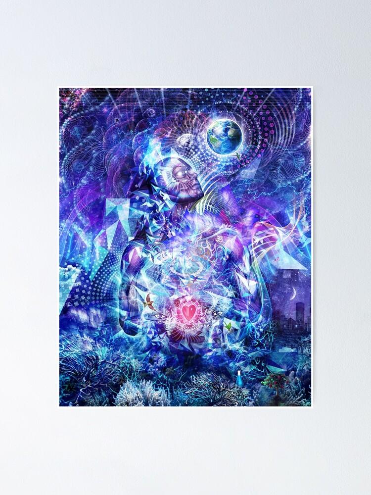 Alternate view of Transcension - Vertical Crop Poster