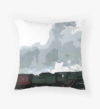 Oliver Cromwell Poster bywhacky Floor Pillow