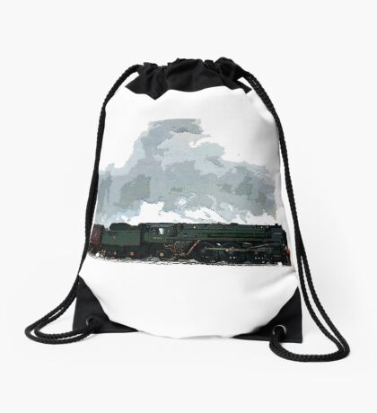Oliver Cromwell Poster bywhacky Drawstring Bag