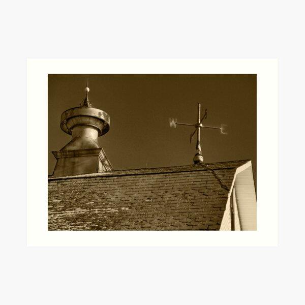 Barn Roof Art Print