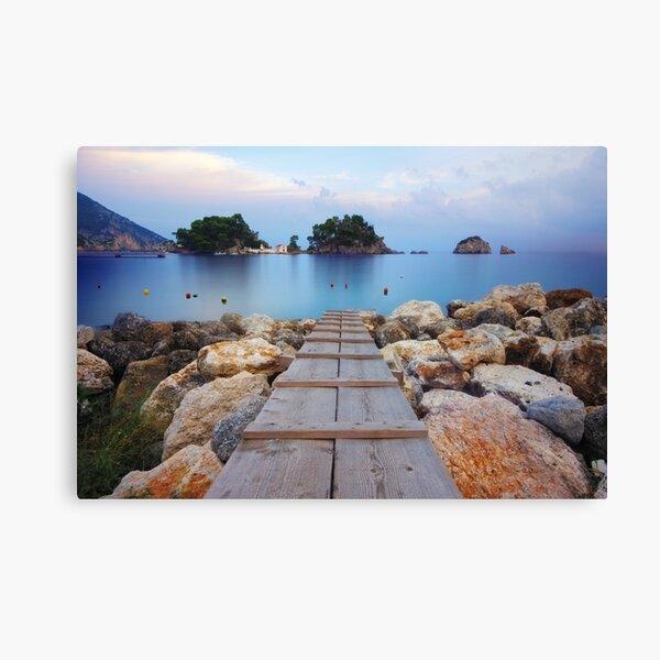 Parga, Greece Canvas Print