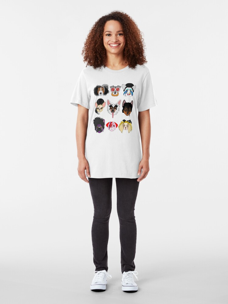 Alternate view of Pop Dogs Slim Fit T-Shirt