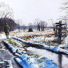 A walk in the snow by Paula Oakley