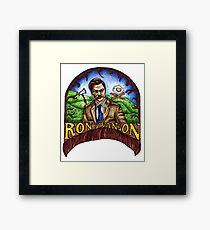 Ron Swanson Framed Print