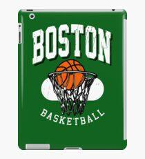 Boston Basketball Retro design iPad Case/Skin