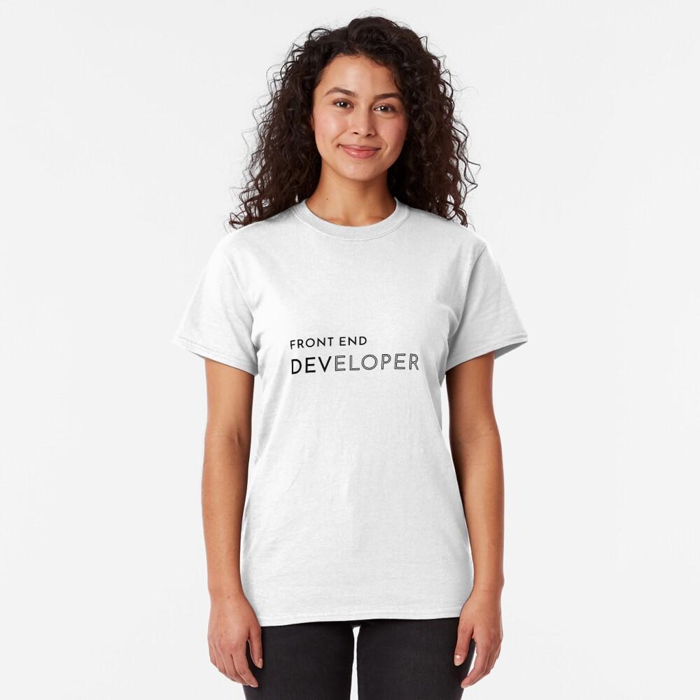 Front End Developer (Inverted) Classic T-Shirt