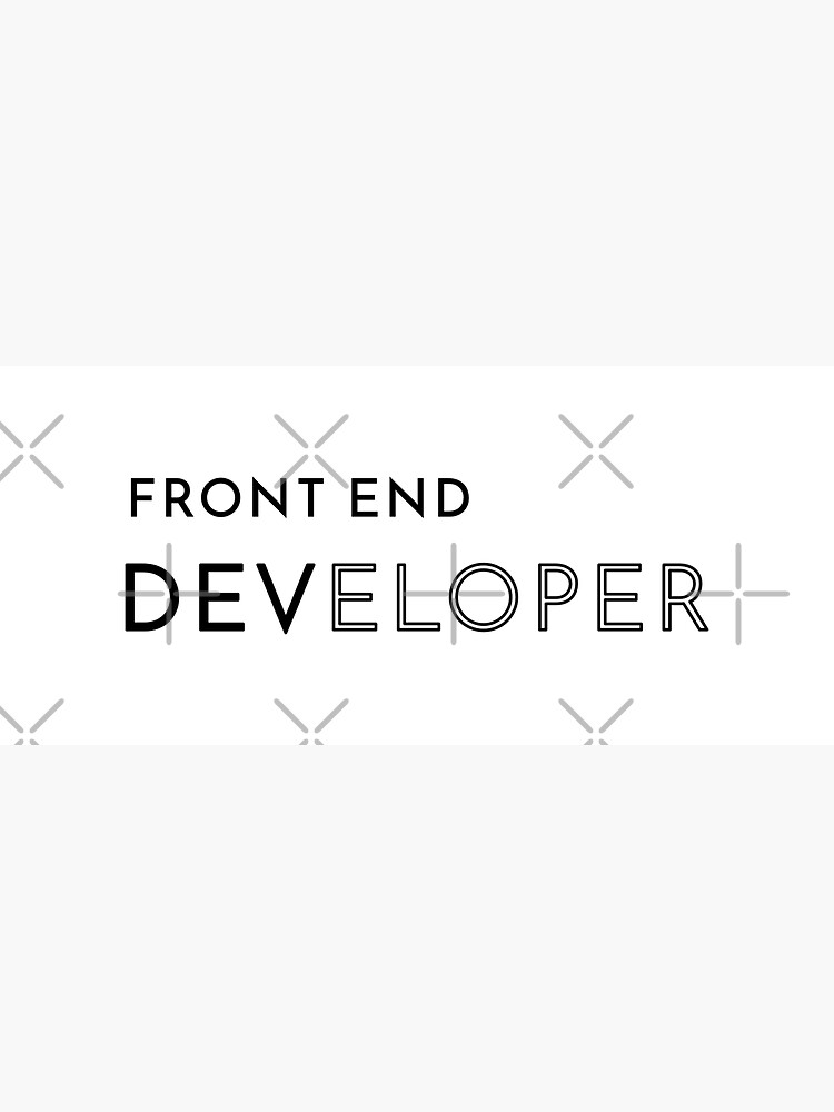 Front End Developer (Inverted) by developer-gifts
