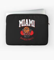 Miami Basketball Retro Design Laptop Sleeve