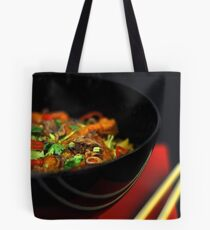 Chinese Noodles  Tote Bag