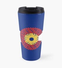 Ride Colorado (Bicycle Cassette) Travel Mug