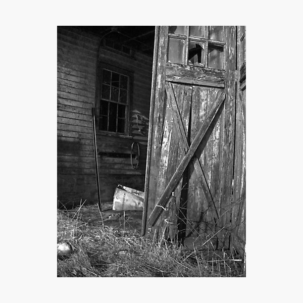A Peek Inside Photographic Print