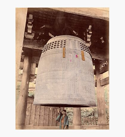 Chionin Temple Bell Photographic Print