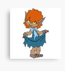 Winnie - Scooby Doo Ghoul School Canvas Print
