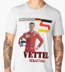 Seb Vettel 2018 Men's Premium T-Shirt