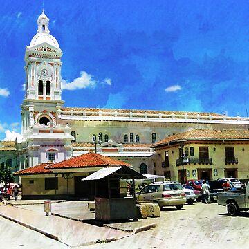 Iglesia San Francisco, Cuenca, Ecuador by alabca
