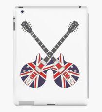 British Mod Union Jack Guitars iPad Case/Skin