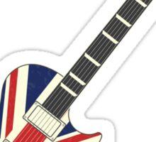Mod British Union Jack Guitar Sticker