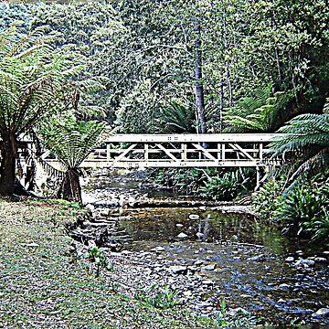 Creek Bridged by KazM