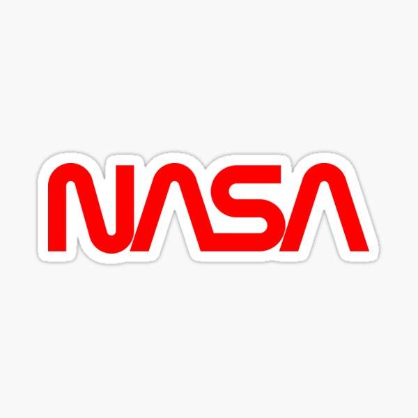 1976 NASA Graphics Standards - Logotype Sticker