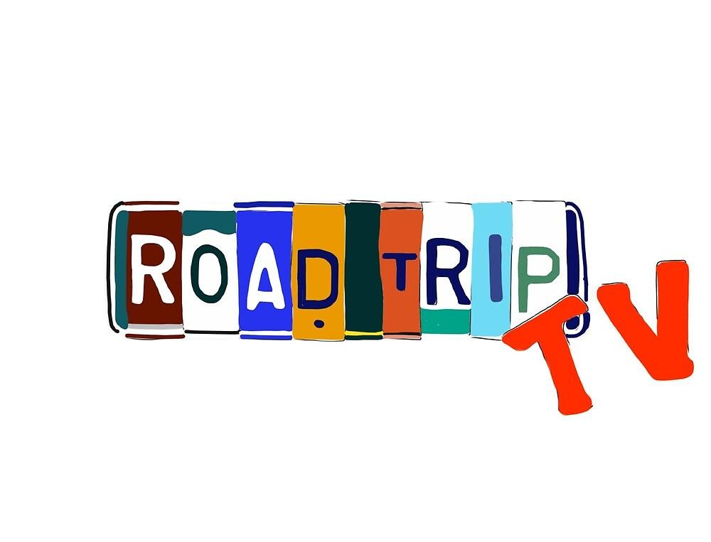Quot Roadtriptv Logo Quot By Theharibobear Redbubble
