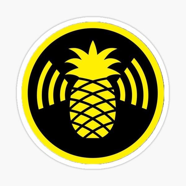 WiFi Pineapple Logo  - Hak5 Sticker Sticker