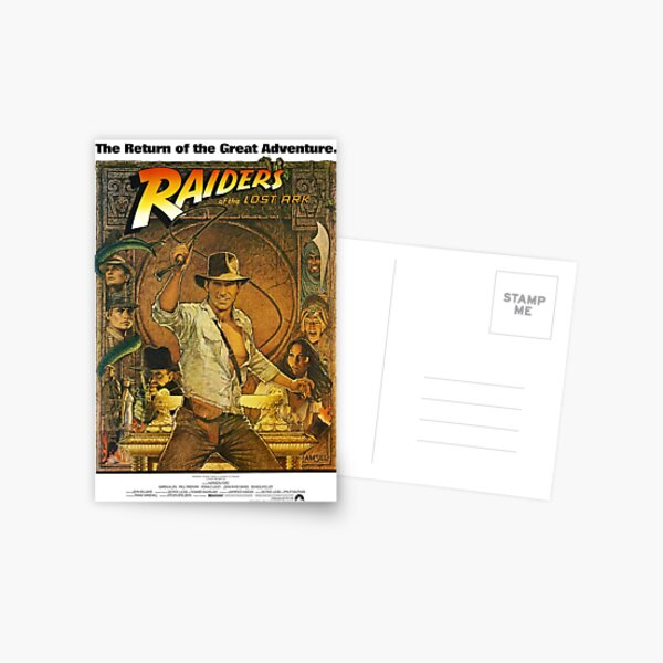 Indiana Jones and the Raiders of the Lost Ark Postcard
