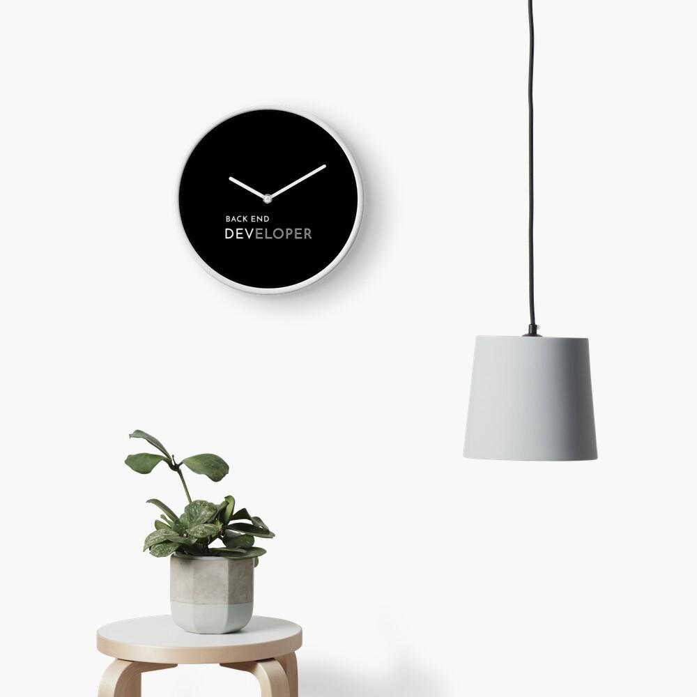 Back End Developer Clock