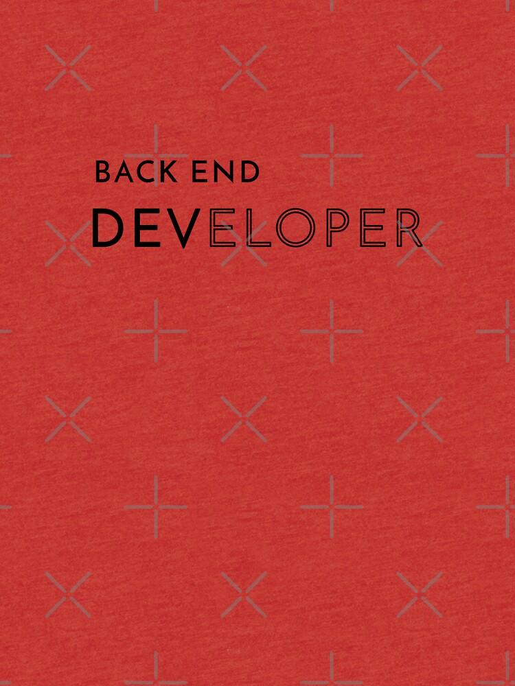 Back End Developer (Inverted) by developer-gifts
