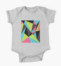 Triangle Composition One Piece - Short Sleeve
