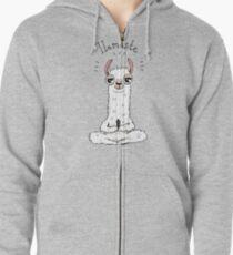 Llamaste Hoodie mit Reißverschluss