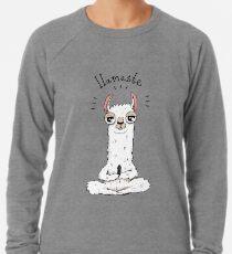 Llamaste Leichtes Sweatshirt