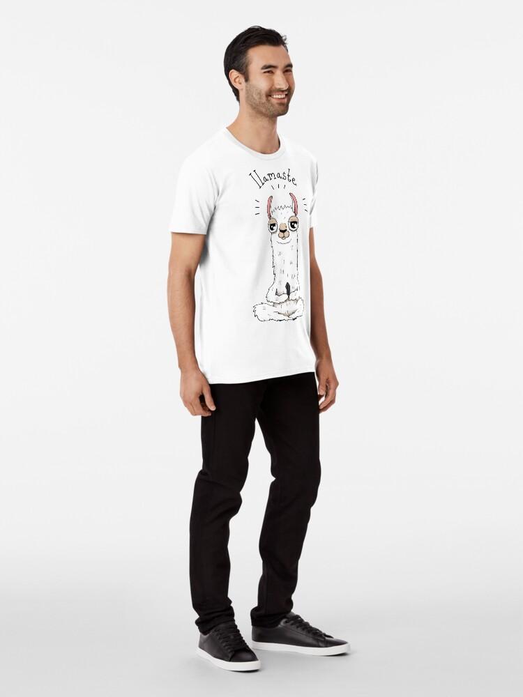Alternate view of Llamaste Premium T-Shirt