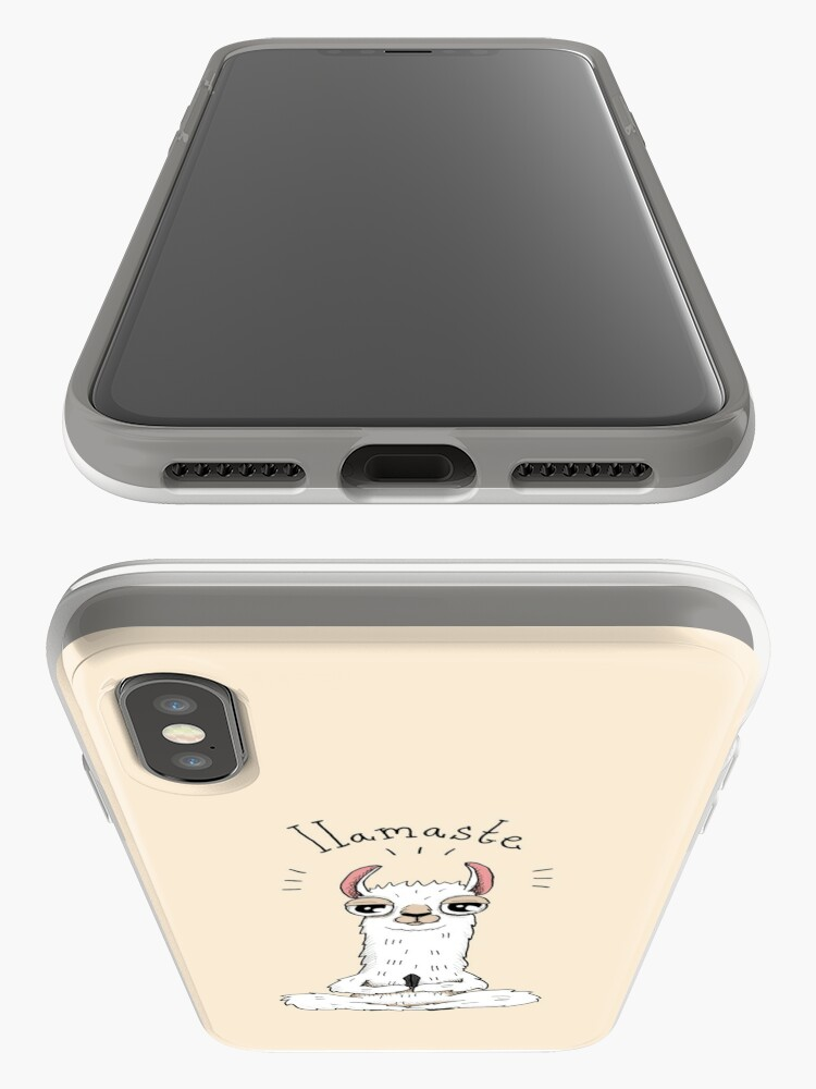 Alternate view of Llamaste iPhone Cases & Covers