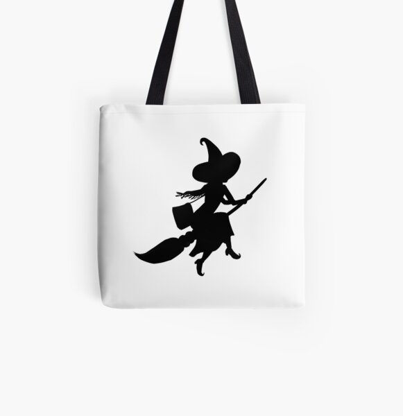 Lilya the Witch flying All Over Print Tote Bag