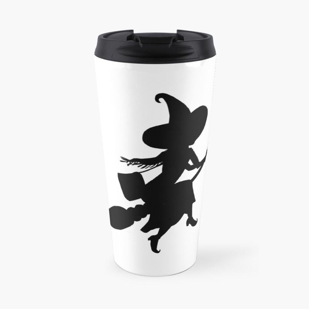 Lilya the Witch flying Travel Mug