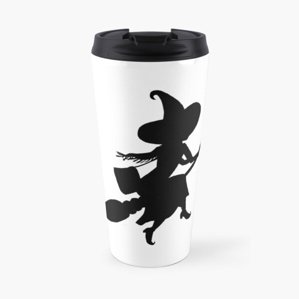 Lilya the Witch flying Travel Mug