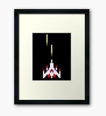 Classic Arcade Spaceship  Framed Print