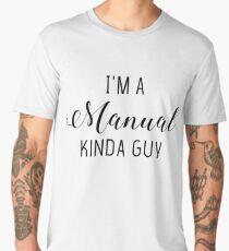 Manual Kinda Guy - Photographer Men's Premium T-Shirt