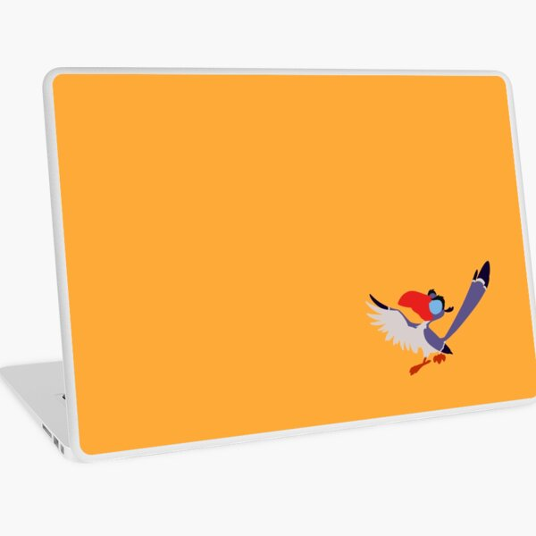 Know-it-All Feather-brain Laptop Skin