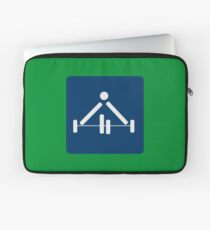 weight lifting Laptop Sleeve