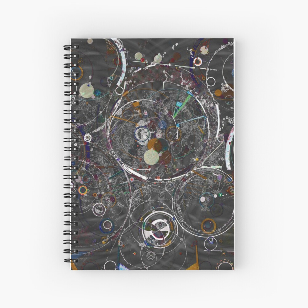 Theories of Everything Spiral Notebook