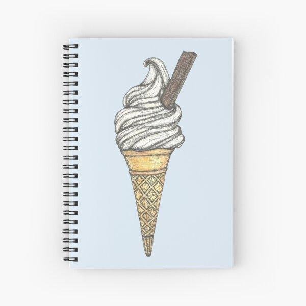 99 Flake Ice Cream Spiral Notebook