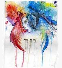 Give Me Love - Watercolor Poster