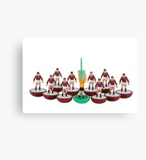 Heart of Midlothian subbuteo team Canvas Print