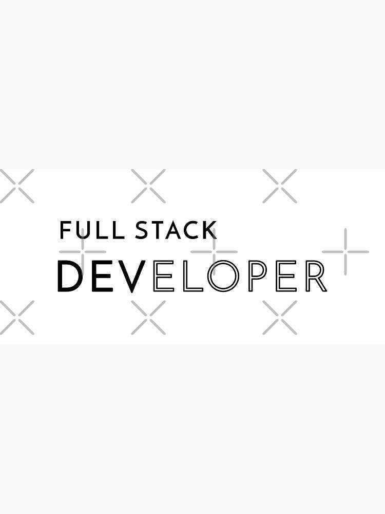Full Stack Developer (Inverted) by developer-gifts
