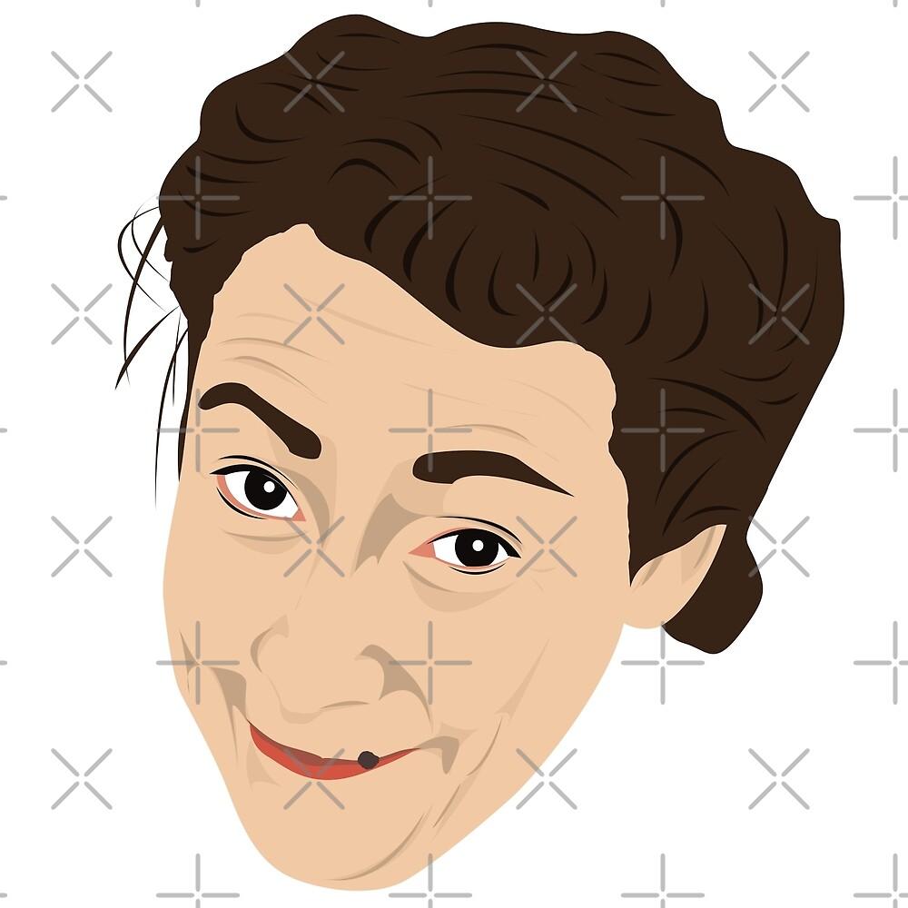 Mrs Doyle by gregs-celeb-art